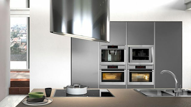 This Ionizing Range Hood Ditches Vents to Trap Cooking Smells