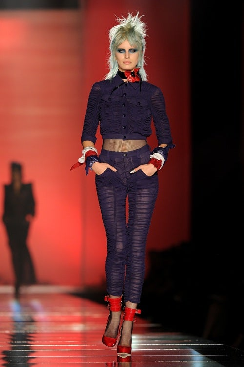 Gaultier Brings The Runaways To The Runway
