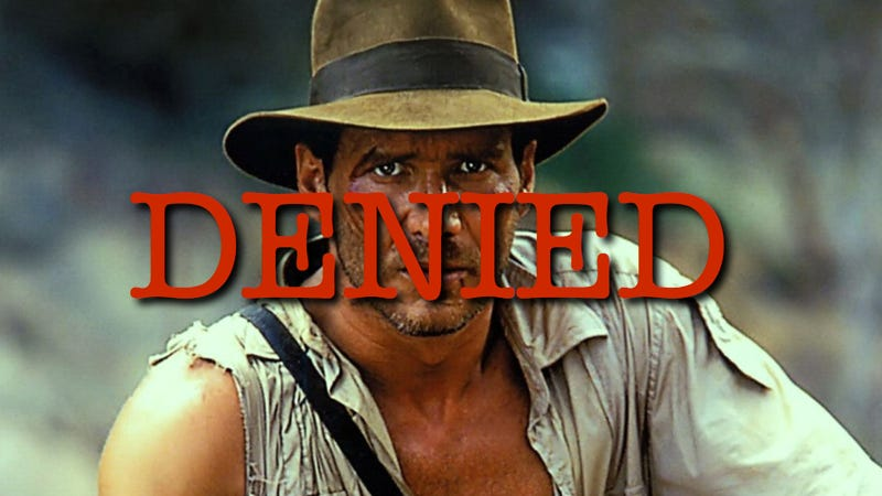 Indiana Jones' Bid for Tenure Has Been Rejected