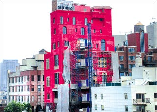 Julian Schnabel's Pink House, Discounted
