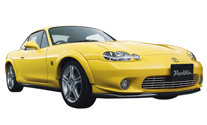 Mazda sold a Miata coupe - we just didn't know about it.