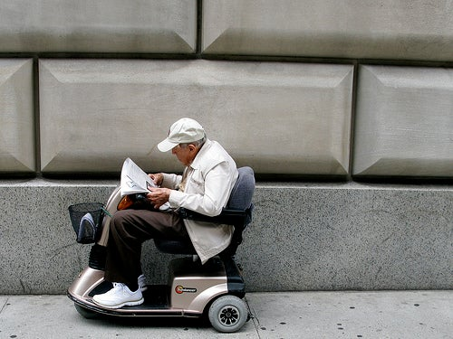 Deranged Old People Demand Right to Survive in NYC