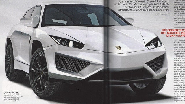 Lamborghini Urus Is The New Lambo SUV?