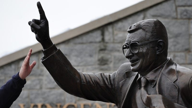 No One Is Currently Guarding The Joe Paterno Statue