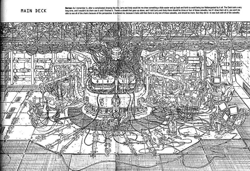 Revel in the technical details and biomechanical weirdness of The Matrix concept art