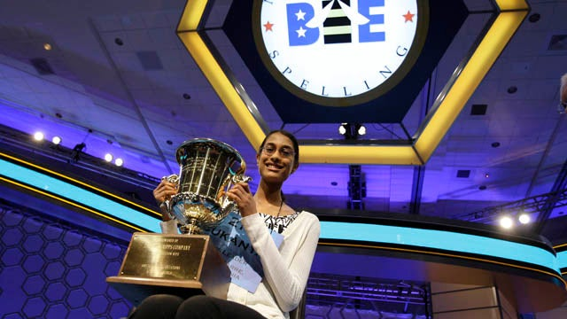 Hairy Word Ends This Year's National Spelling Bee