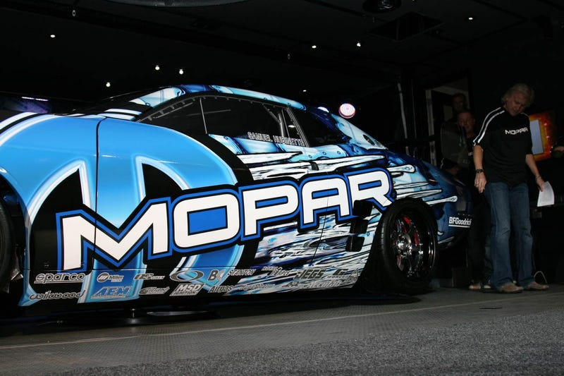 2009 Mopar Drift Dodge Challenger Slides Into SEMA