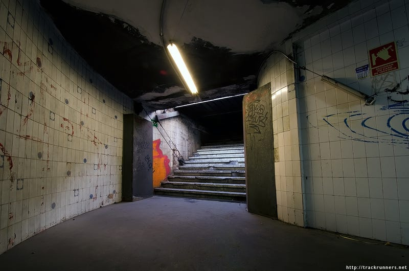 Lost in a Maze of Abandoned Stations Beneath the Streets of Barcelona