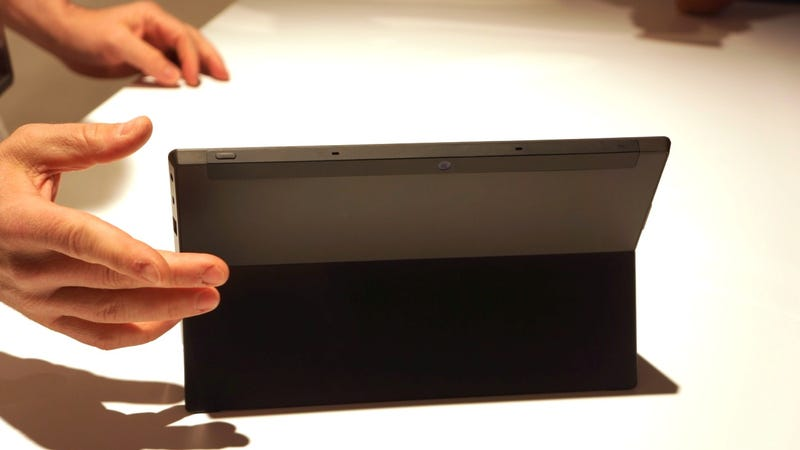 Microsoft Surface Is Hiding a Pressure-Sensitive Keyboard, Multitouch Trackpad and Kickstand