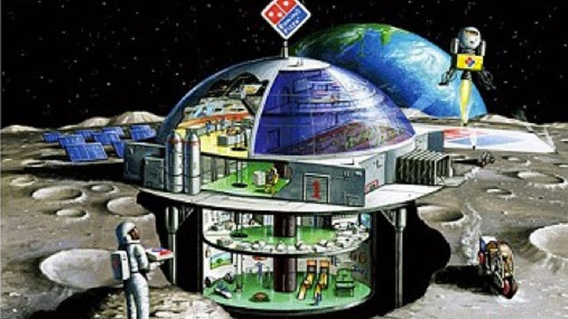 Dominos Dreams Of Selling Mediocre Pizza On The Moon