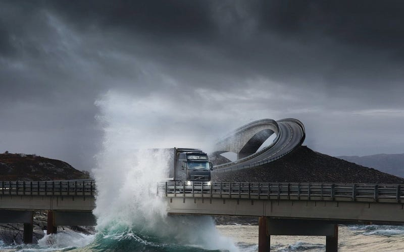 Go For A Drive On Norway's Achingly Beautiful Atlantic Ocean Road