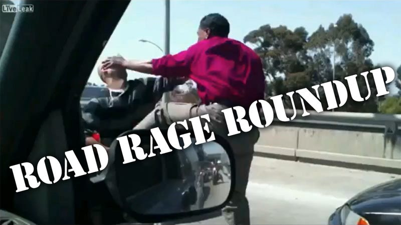 The Ten Funniest Road Rage Freak Outs Of All Time