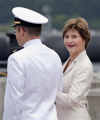 Laura Bush vs. German Chef: Was She Actually Poisoned?