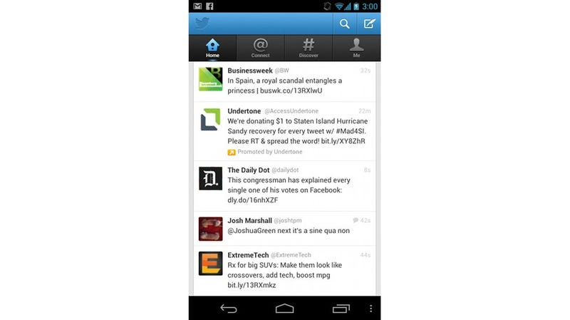 A Closer Look at Twitter's Wonderful Android Redesign