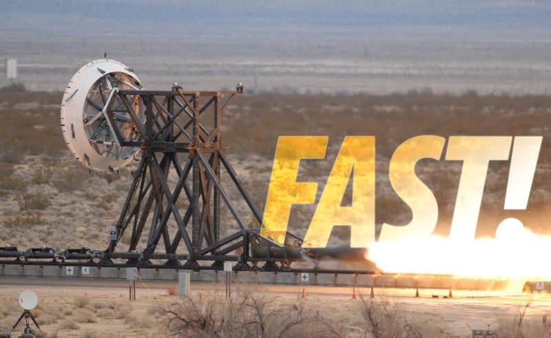 NASA's New Rocket Sled Looks Like A Lot Of Fun