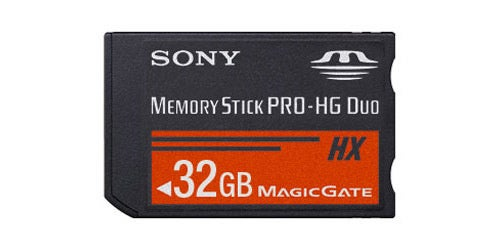 Sony Squirts Out Memory Stick Pro-HG Duo at 32GB