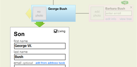 Build your family tree with Geni
