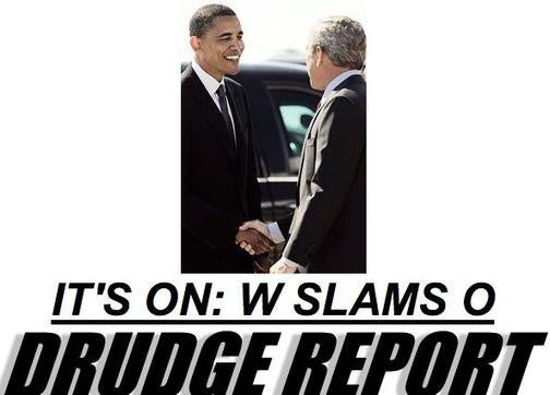 Bush Slams Obama in Horrendously Edited Washington Times Exclusive