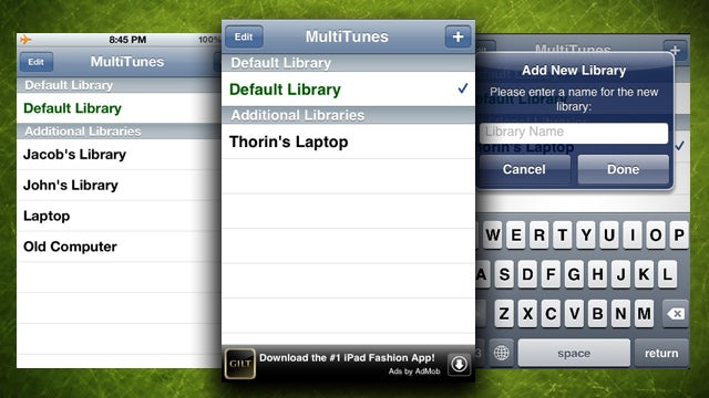 MultiTunes Syncs Your iPhone to Multiple iTunes Music Libraries