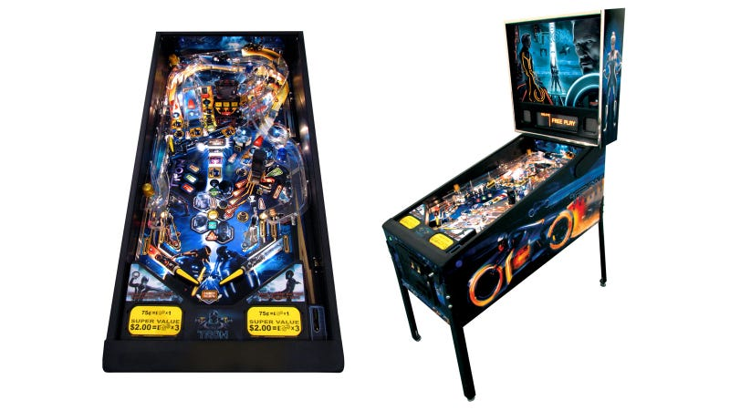 Tron: Legacy Finally Gets Its Pinball Port