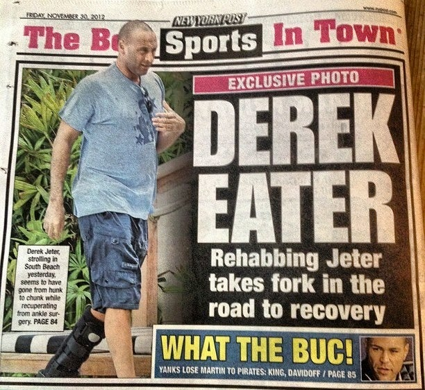 Derek Jeter: Fatty Fatty Boombalatty (Or Something)