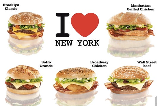 Czech McDonald's Introduces New York-Themed Burgers
