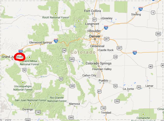 Mudslide 4 Miles Long, 2 Miles Wide, 250 Ft Deep Hits Western Colorado