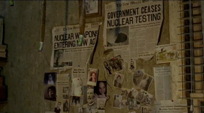 The Ultimate Movie Cliche: The Wall Of Newspaper Clippings
