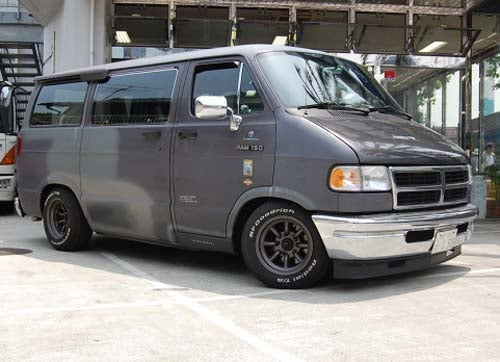 Crazy Japanese Build Serial Killer Vans For The Race Track: Dajiban!