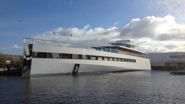 This Is Steve Jobs' Yacht