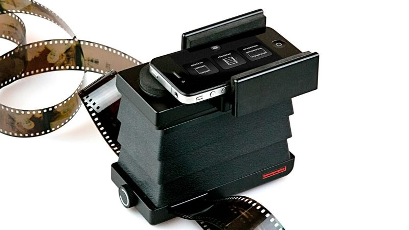 Lomography's Smartphone Scanner Digitizes Film Right To Your Mobile Device