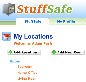 Inventory Your Home or Office with StuffSafe