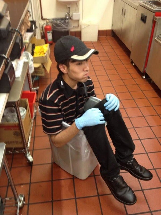 Burger King Employee Makes a Bed of Buns, Pisses People Off