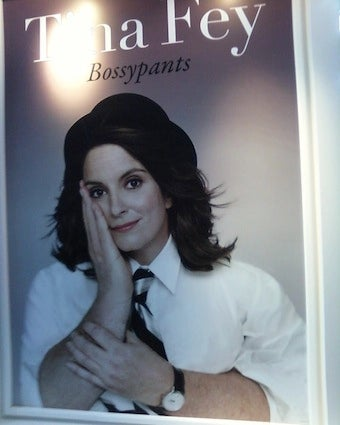 Judging A Book By Its Cover: Tina Fey's Bossypants