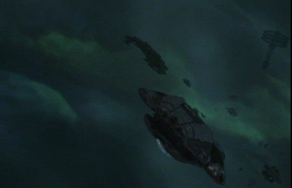In Reality, Nebulae Offer No Place for Spaceships to Hide