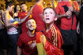 A Gallery Of Happy Spaniards Yelling And Burning Stuff (UPDATES)