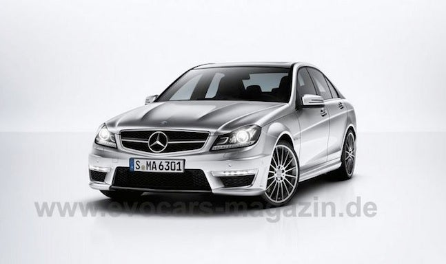 2012 Mercedes-Benz C63 AMG First Photos Leak?