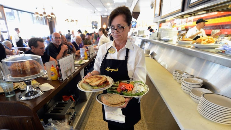 Most of Those Allegedly Great New Jobs for Women Are In Waitressing