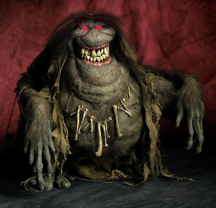Eerily realistic monster sculptures wish you sweet and screaming dreams
