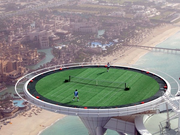 Would You Dare Play a Round on the World's Highest Tennis Court?