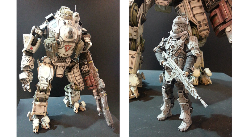 Giant Titanfall Action Figure Dropping On Your Wallet