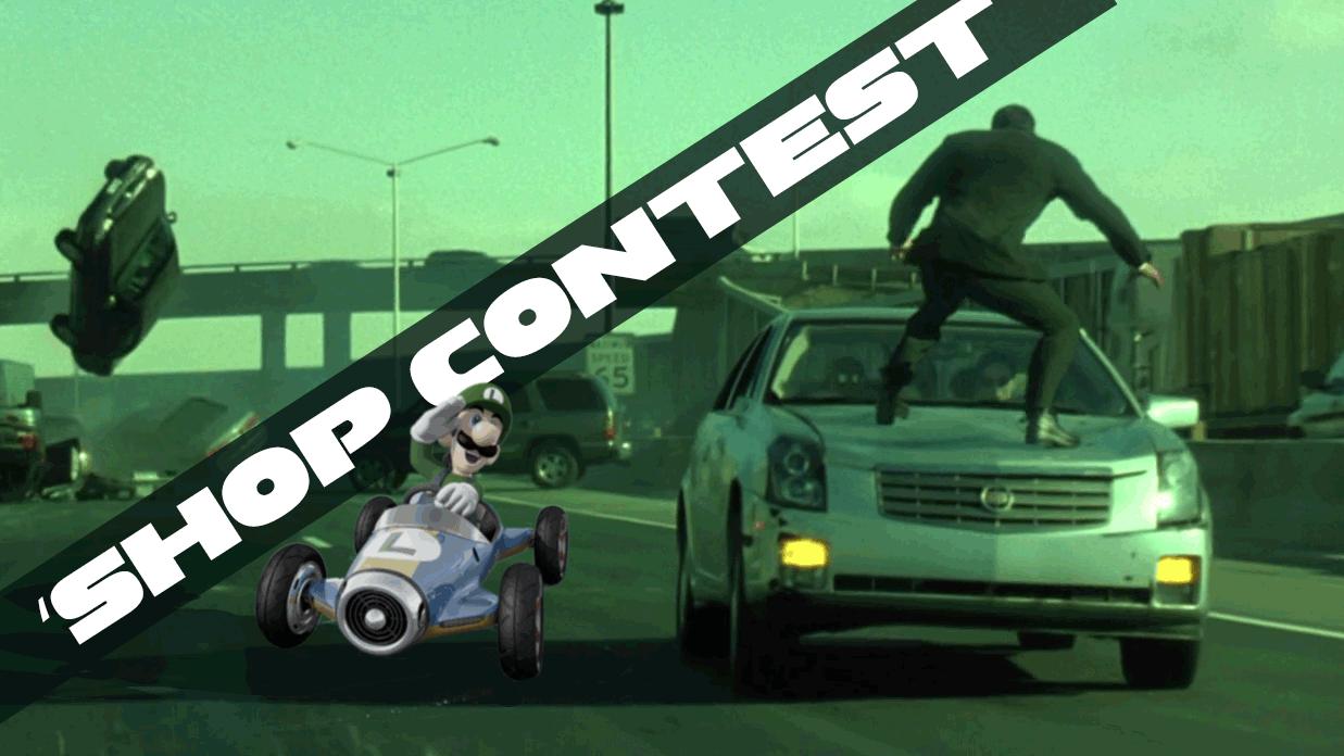 Kotaku 'Shop Contest: Let's Mario Kart Everywhere
