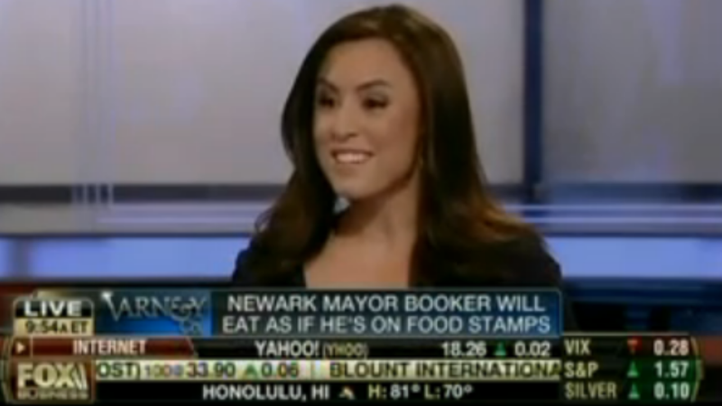 Fox News Host Says She'd Look 'Fabulous' On the Food Stamps Diet Plan