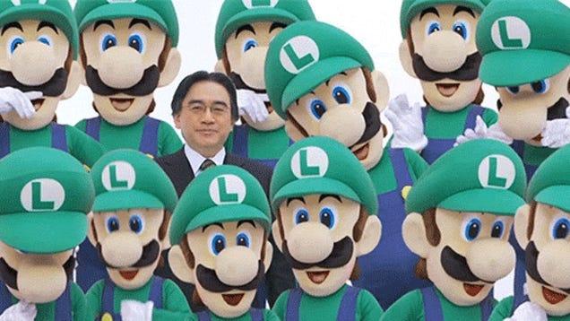 Nintendo's President Is a One-Man GIF Generator