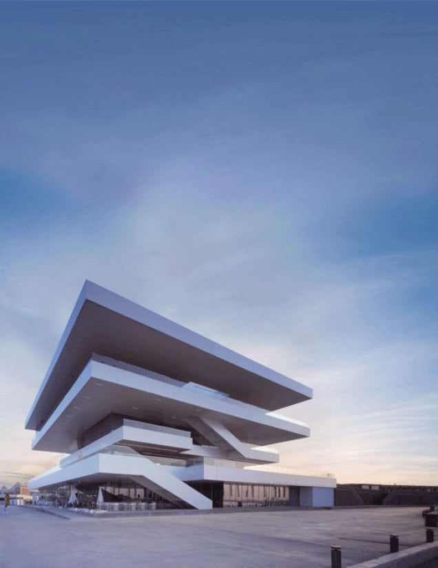 Trippy Animated GIFs Bring Contemporary Architecture To Life