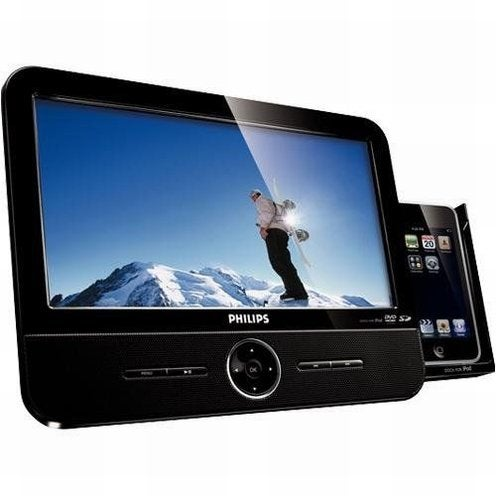 Philips DCP951 Portable DVD Player Likes iPod Touch, Kitchen Counters