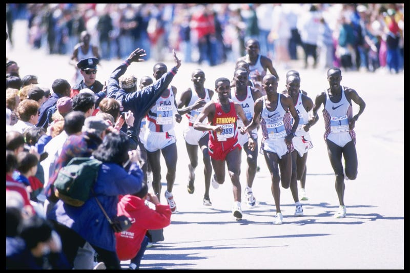 Boston Without Barriers: The Marathon Then And Now