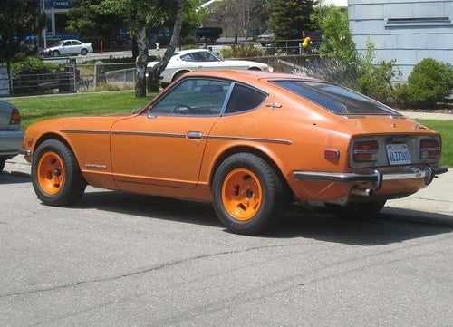 1970 Datsun 240Z Down On The Alameda Street