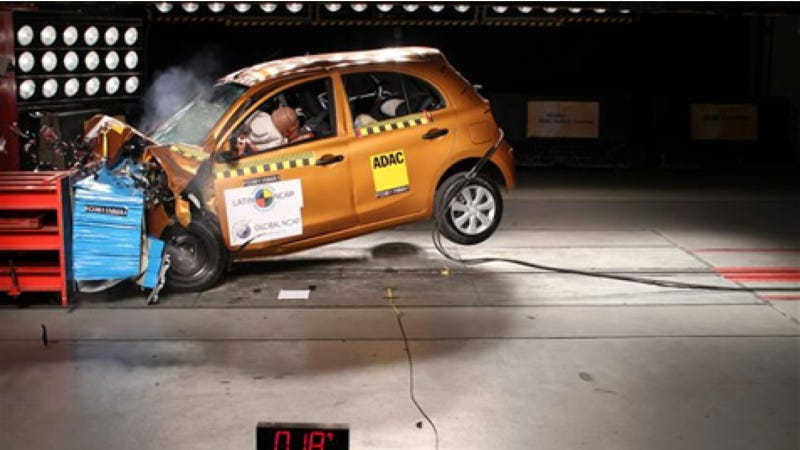 New Cars Sold In Brazil Are Actually Really Dangerous