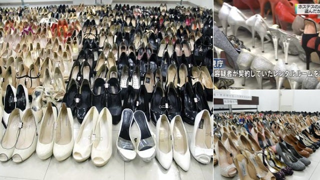 Thief with Shoe Fetish Allegedly Stole 458 High Heels
